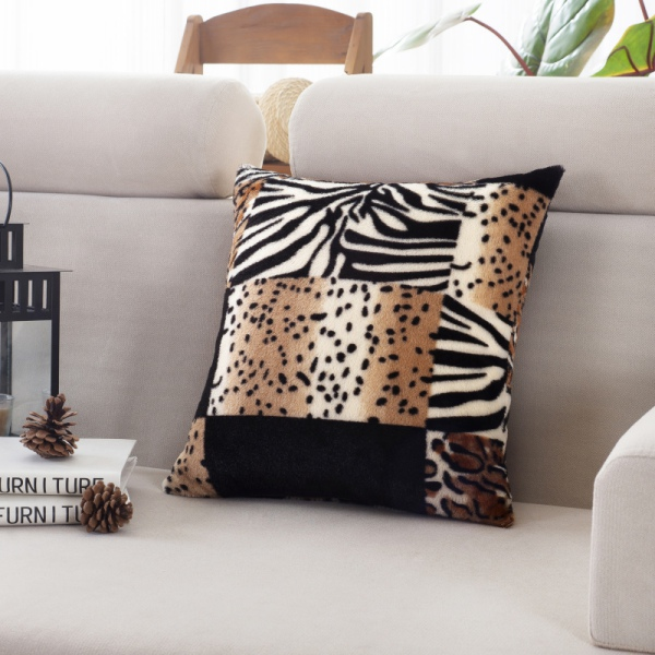 Animal Print Sofa Pillows : Fashion Pillow Cases Square Animal Print Leopard Zebra Sofa Car Cushion Covers eBay