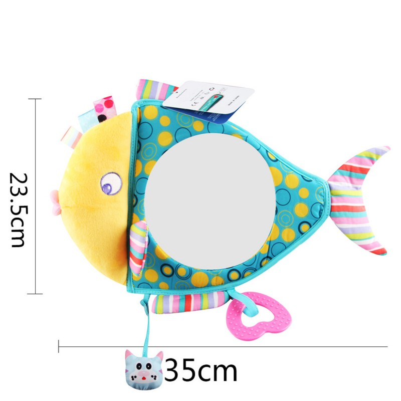 Car Seat Back Mirror For Baby Kid Shatterproof Car Mirror Clear View Car Mirrors