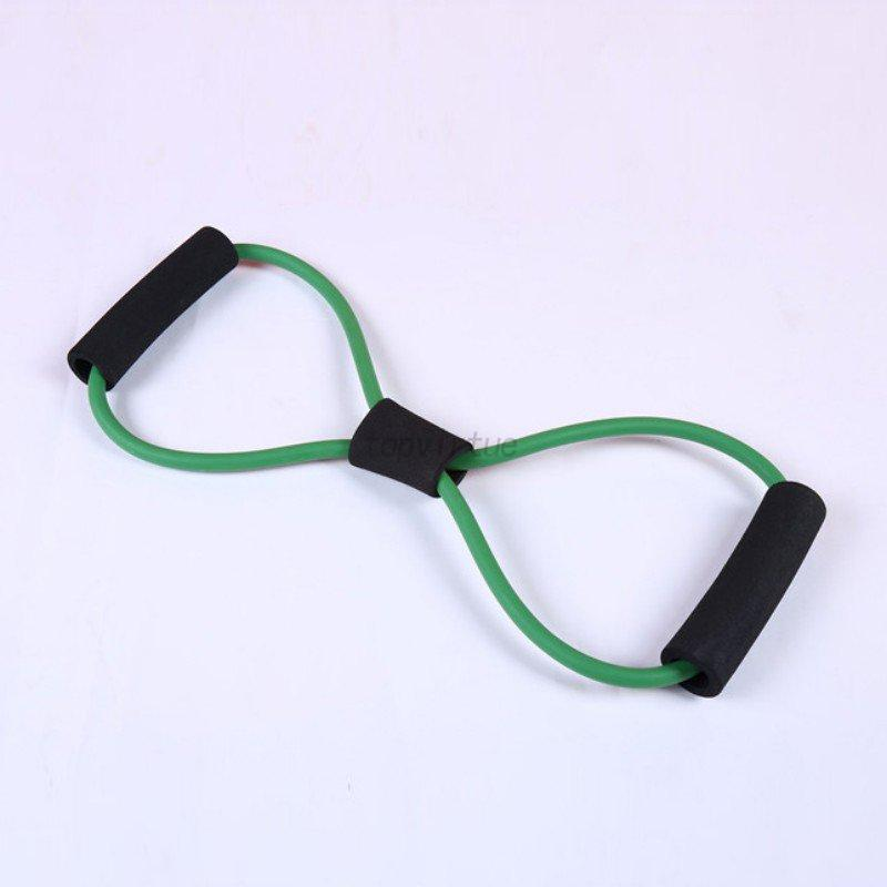 Exercise Rubber Bands Green: Sports Resistance Loop Band Exercise Yoga Bands Rubber
