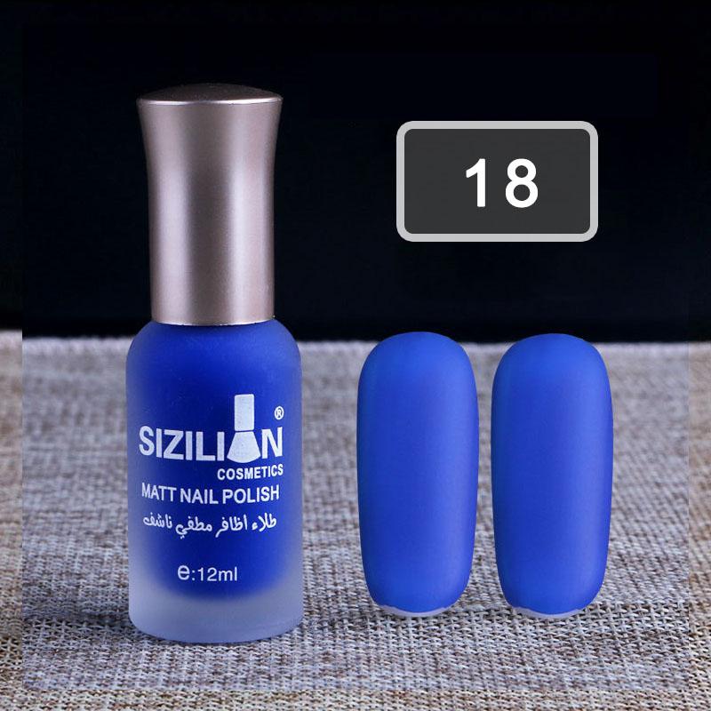 Lots Candy Color DIY Fashion Nail Polish Matte Art Manicure Non ...