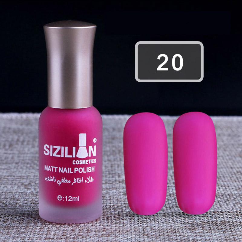 Candy Color Nail Polish Matte Art Manicure Non-toxic Makeup Nail ...