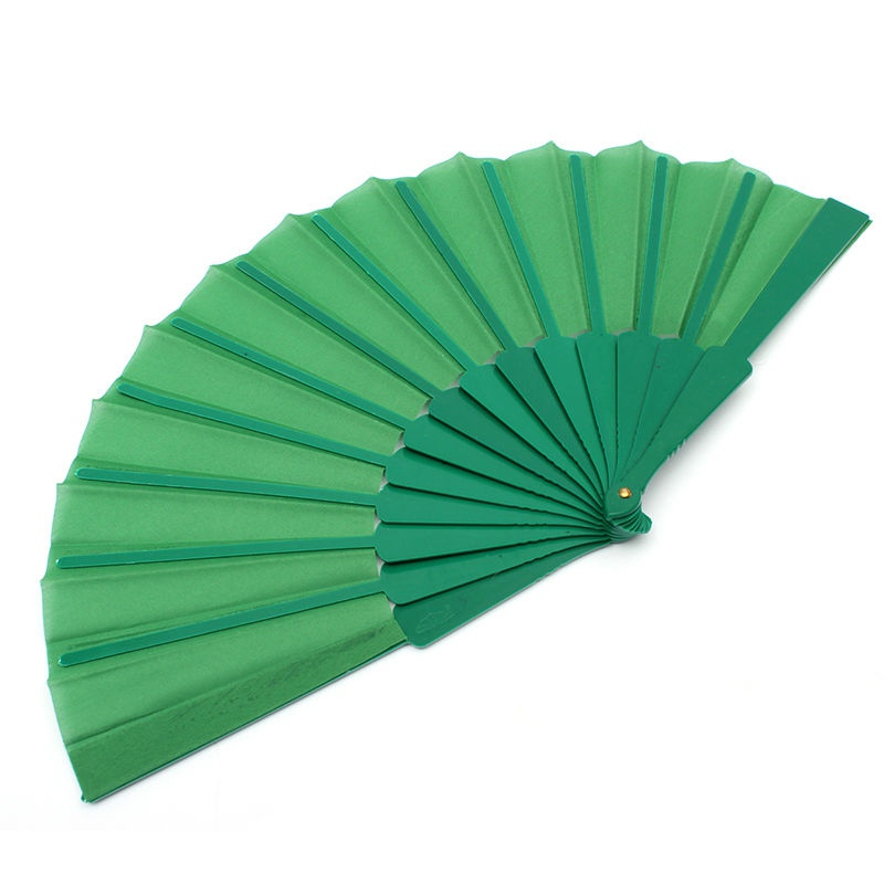 portable chinese folding bamboo cloth hand held pocket fan. Black Bedroom Furniture Sets. Home Design Ideas