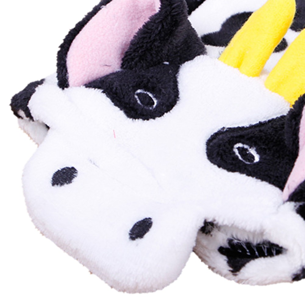 Cute-Pet-Dog-Cat-Dairy-Cow-Clothes-Funny-Puppy-Costume-Christmas-Hoodie-Dress-US thumbnail 4