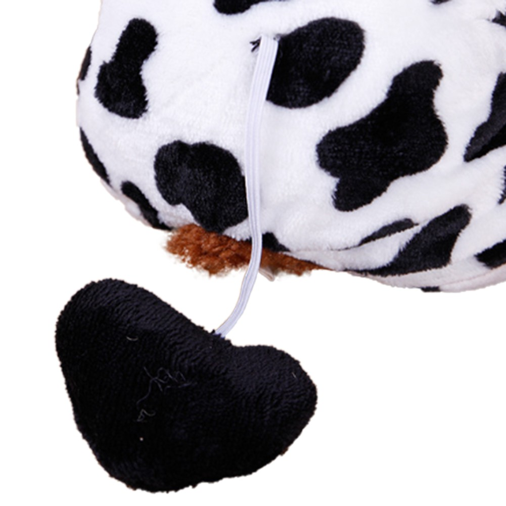 Cute-Pet-Dog-Cat-Dairy-Cow-Clothes-Funny-Puppy-Costume-Christmas-Hoodie-Dress-US thumbnail 5