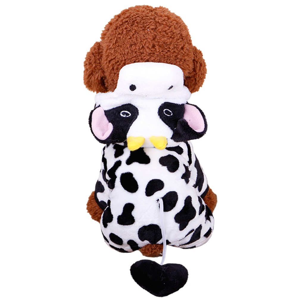 Cute-Pet-Dog-Cat-Dairy-Cow-Clothes-Funny-Puppy-Costume-Christmas-Hoodie-Dress-US
