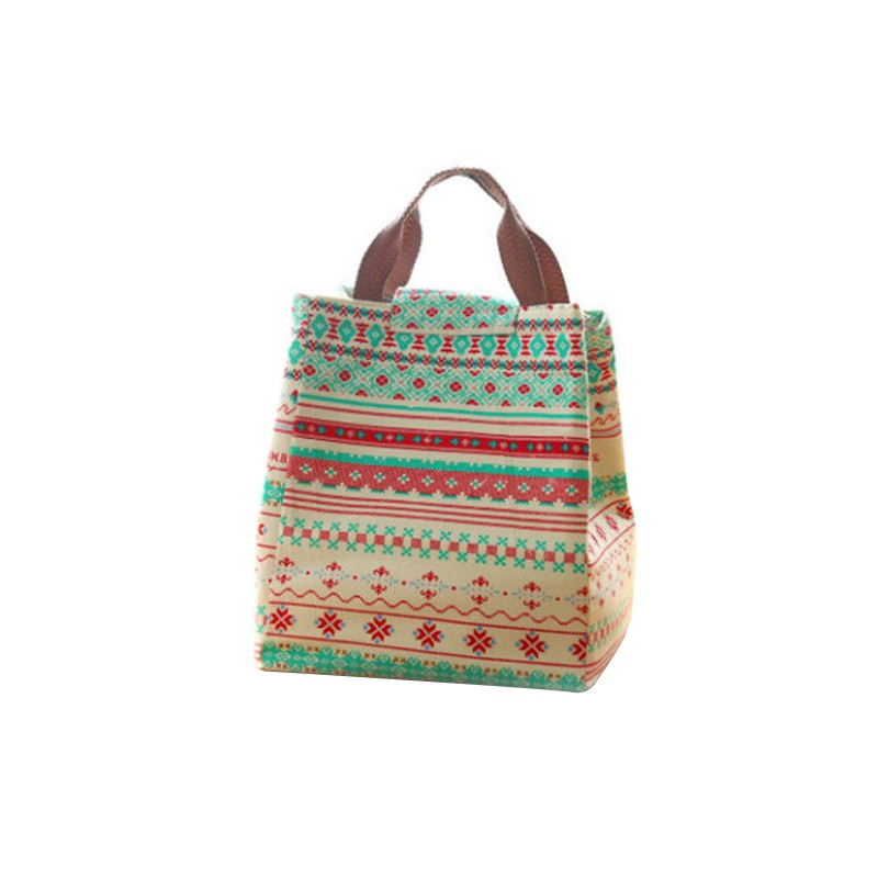 Portable-Lunch-Bag-Container-Box-Tote-Storage-Canvas-Insulated-Lunch-Picnic-Bag thumbnail 20