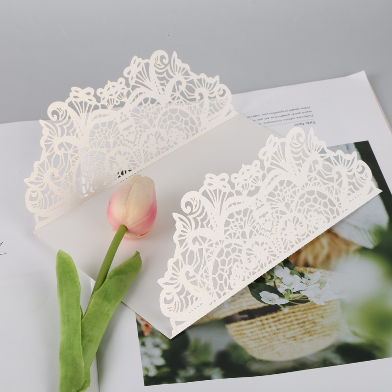 10PCS-Wedding-Invitation-Card-Laser-Cut-White-Butterfly-Romantic-Heart-Card-USA