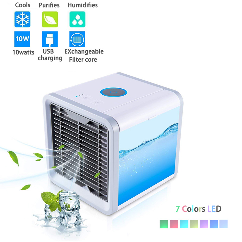 Portable-Mini-Air-Cooler-Ice-Water-Conditioner-Evaporator-USB-Rechargeable-Fan