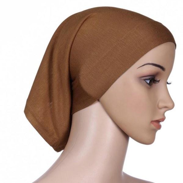 Women Ladies Under Scarf Tube Bonnet Cap Bone Islamic Head ...