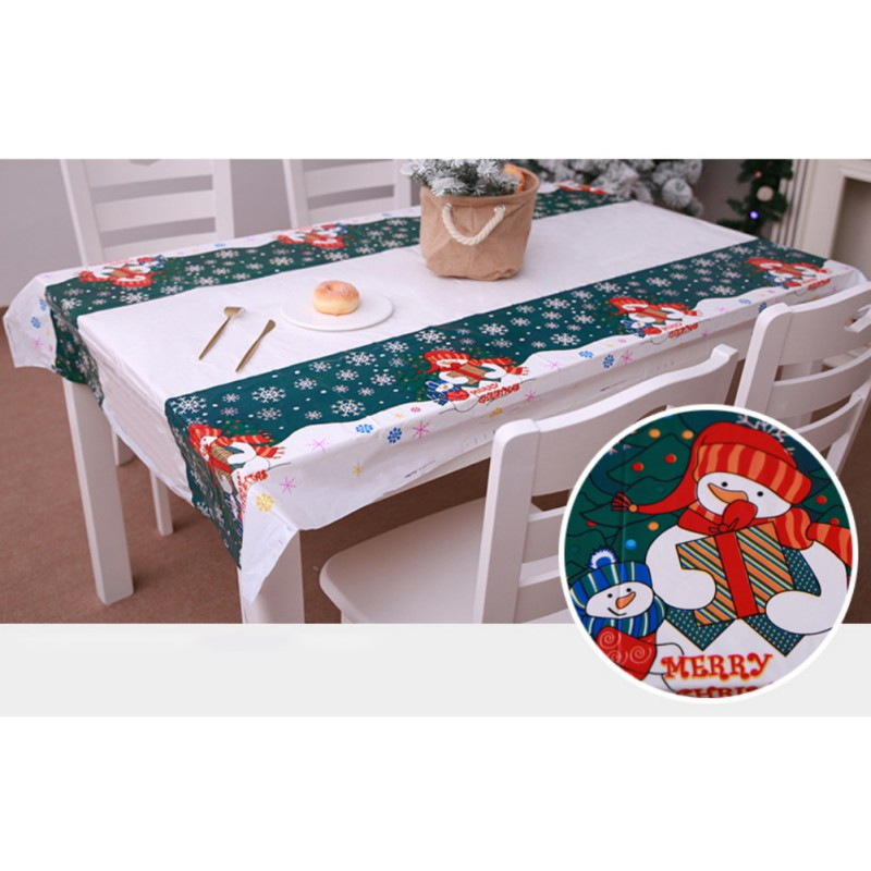 US Waterproof Oil Proof PVC Table Cloth Cover Home Kitchen
