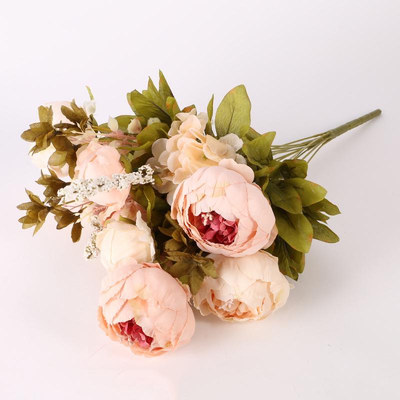 Home decor partyartificial bridal bouquet peony silk flowers fake home decor partyartificial bridal bouquet peony silk flowers mightylinksfo