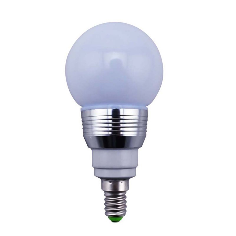 5w e14 e27 b22 rgb led light color changing bulb ir remote control party decor ebay. Black Bedroom Furniture Sets. Home Design Ideas