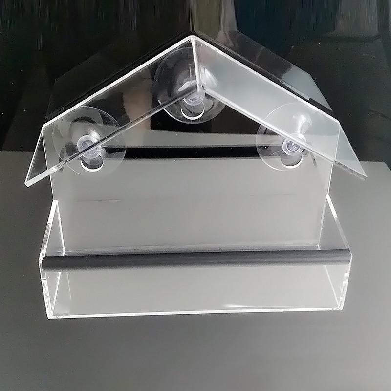 US Bird Feeder Acrylic Window with Strong Suction Cup Birdho
