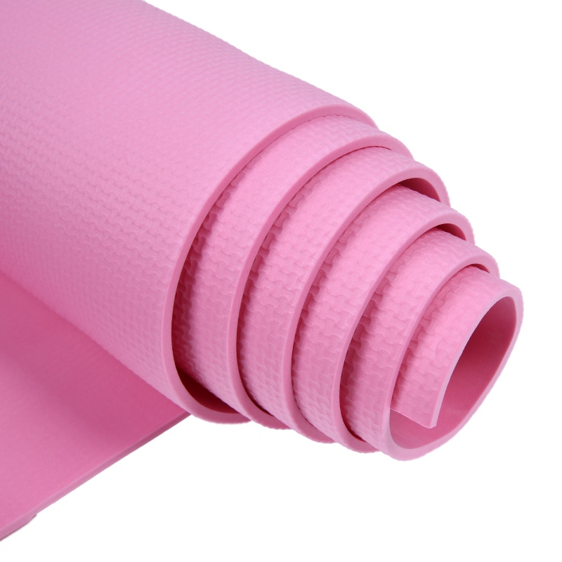 US 4mm Yoga Mat Workout Exercise Non-slip Mat Gym Pilates