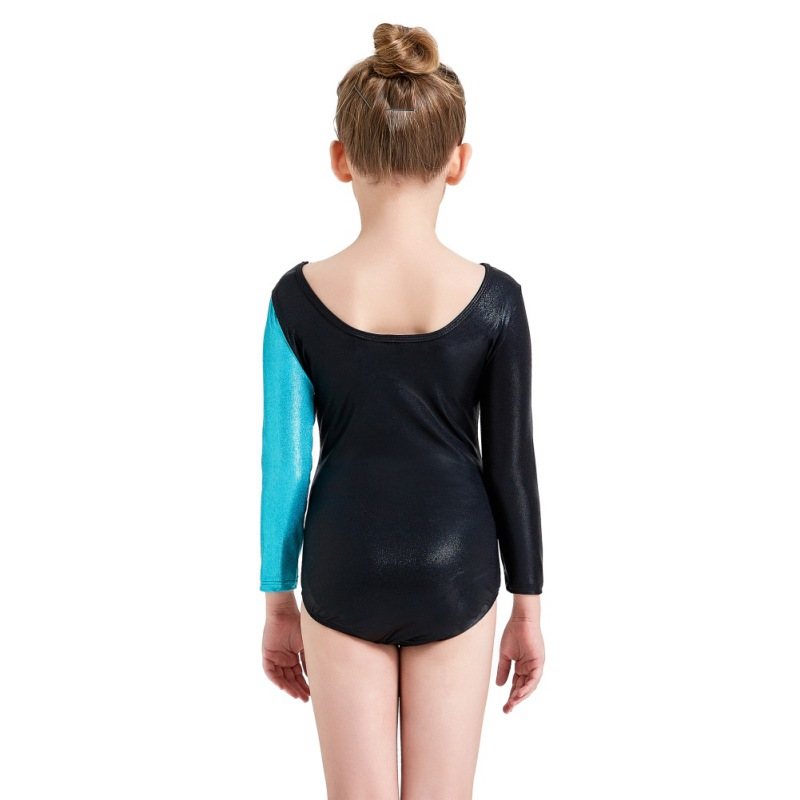 Youth-Girl-Ballet-Gym-Leotards-Flame-Print-Shiny-Sleeveless-Unitard-Skating-Suit thumbnail 31