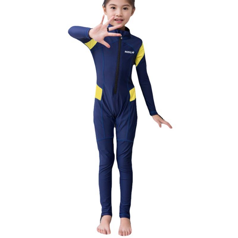 Kids-Scuba-One-piece-Diving-Suit-Snorkeling-Wetsuit-Surfing-Beach-Swimwear thumbnail 13