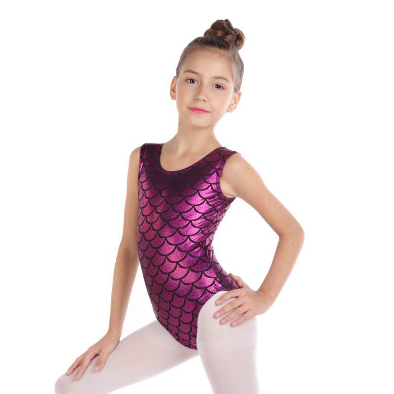 528dafbd7 Kids Girl Ballet Dancewear Gymnastics Leotard Bodysuit Skating ...