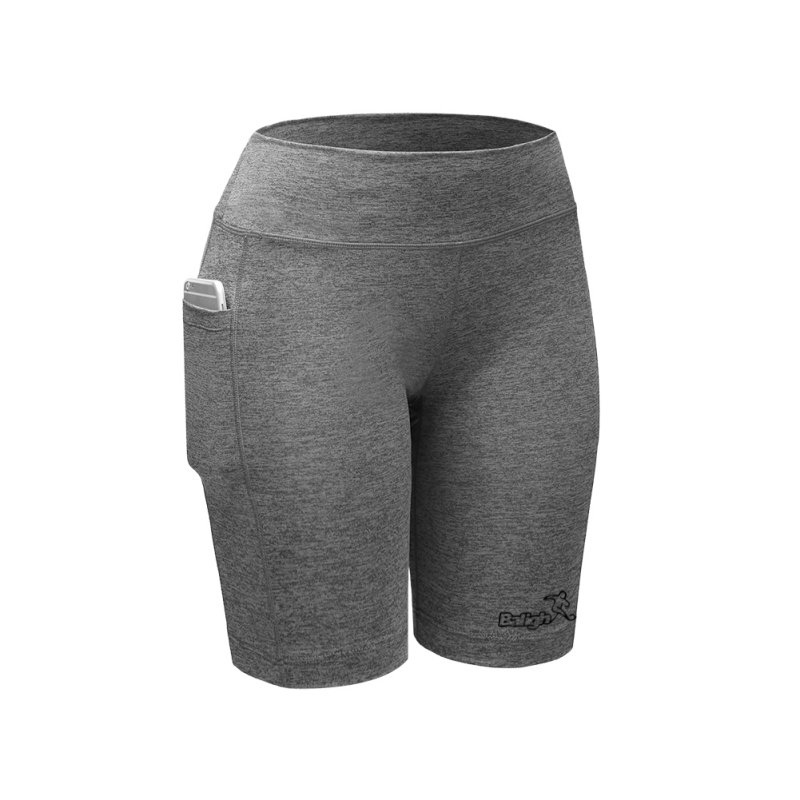 Women Sports Shorts Compression Trousers Gym Fitness ...