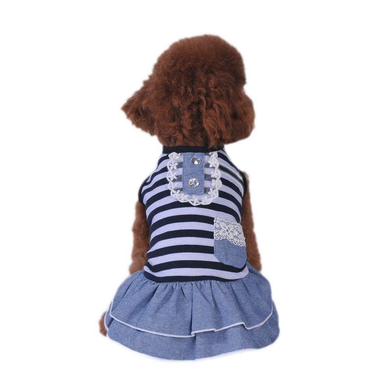 Hot-Pet-Dog-Polyester-Floral-Dress-Summer-Clothes-Puppy-Cat-Tutu-Skirt-Apparel thumbnail 24