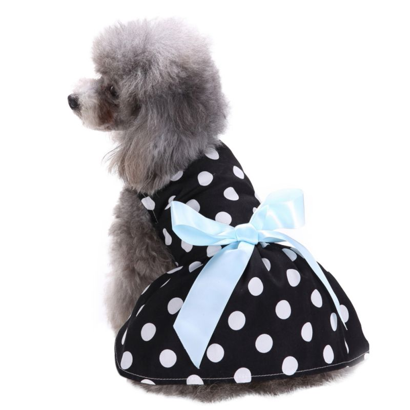 Hot-Pet-Dog-Polyester-Floral-Dress-Summer-Clothes-Puppy-Cat-Tutu-Skirt-Apparel thumbnail 10