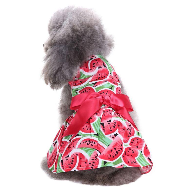 Hot-Pet-Dog-Polyester-Floral-Dress-Summer-Clothes-Puppy-Cat-Tutu-Skirt-Apparel thumbnail 14