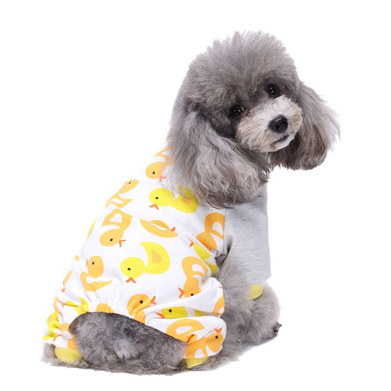 Pet Dog Pajamas Cotton Clothes Chihuahua Yorkie Puppy Clothing For