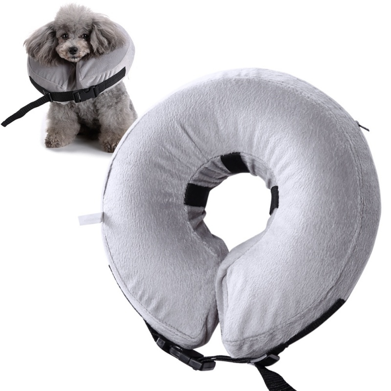 Inflatable Collar Soft E-Collar Protective Head Cone for Dog