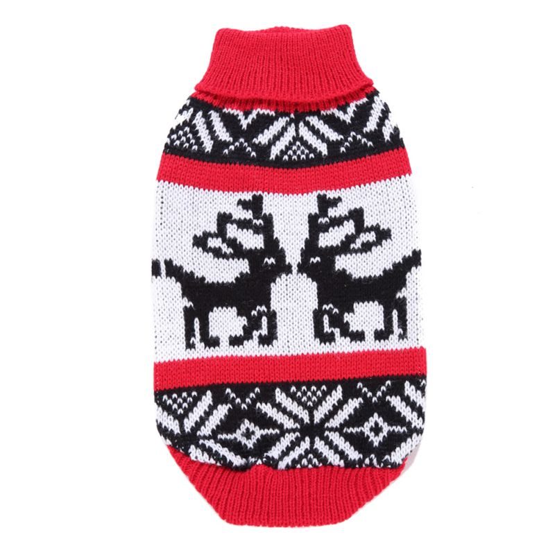 Pet-Dog-Knitted-Warm-Sweater-Puppy-Hoodie-Coat-Cat-Soft-Jumper-Apparel-Clothes thumbnail 33