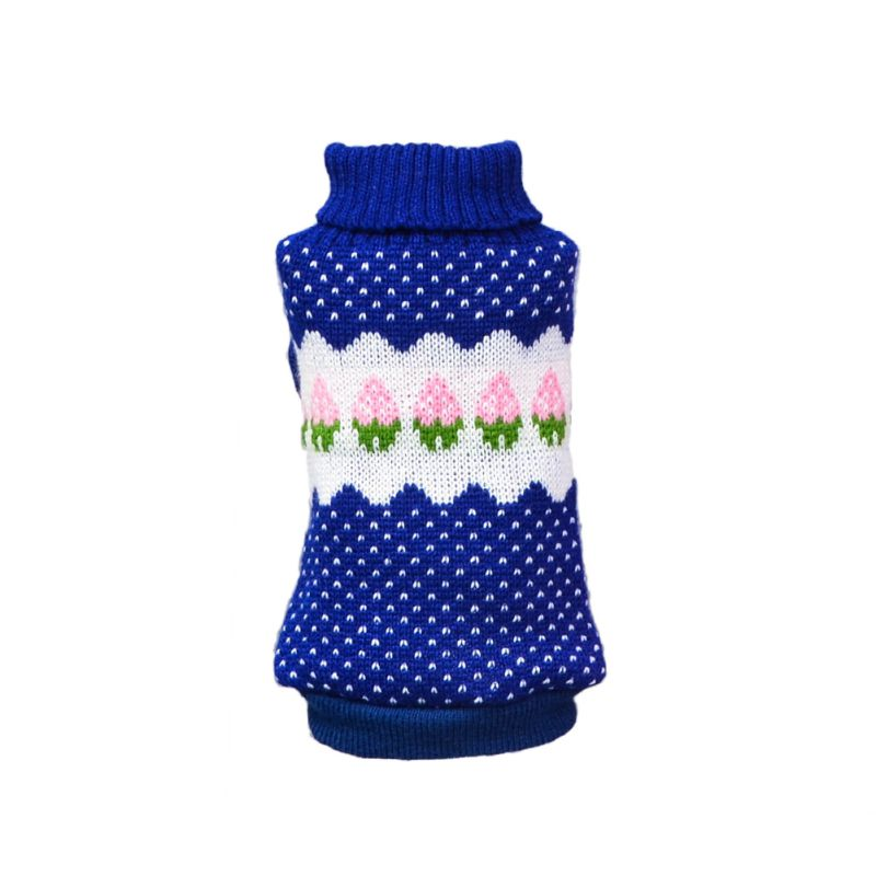 Dog Knitted Sweater Chihuahua Clothes Winter Knitwear Pet Puppy ...