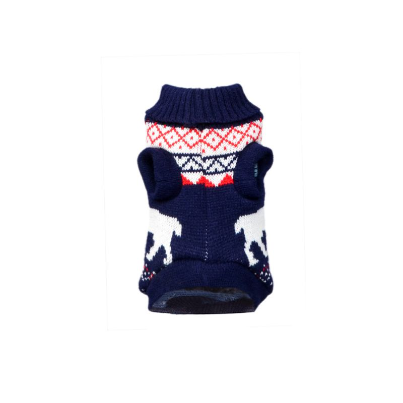 Pet-Dog-Knitted-Warm-Sweater-Puppy-Hoodie-Coat-Cat-Soft-Jumper-Apparel-Clothes thumbnail 60