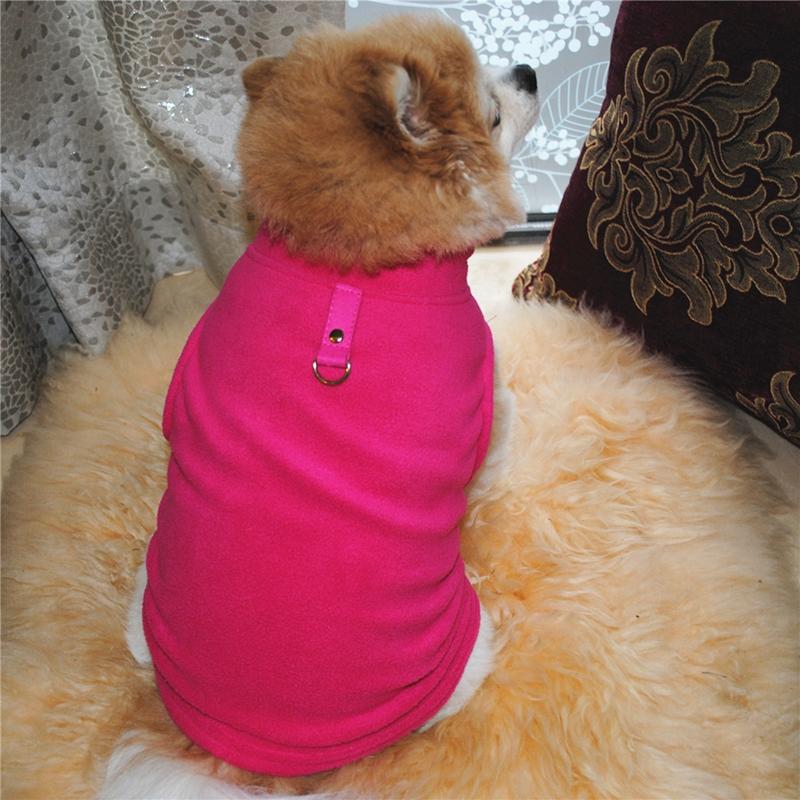 Pet Dog Fleece Knitwear Jumper Winter Coat Puppy Chihuahua Cat Sweater Clothes 9