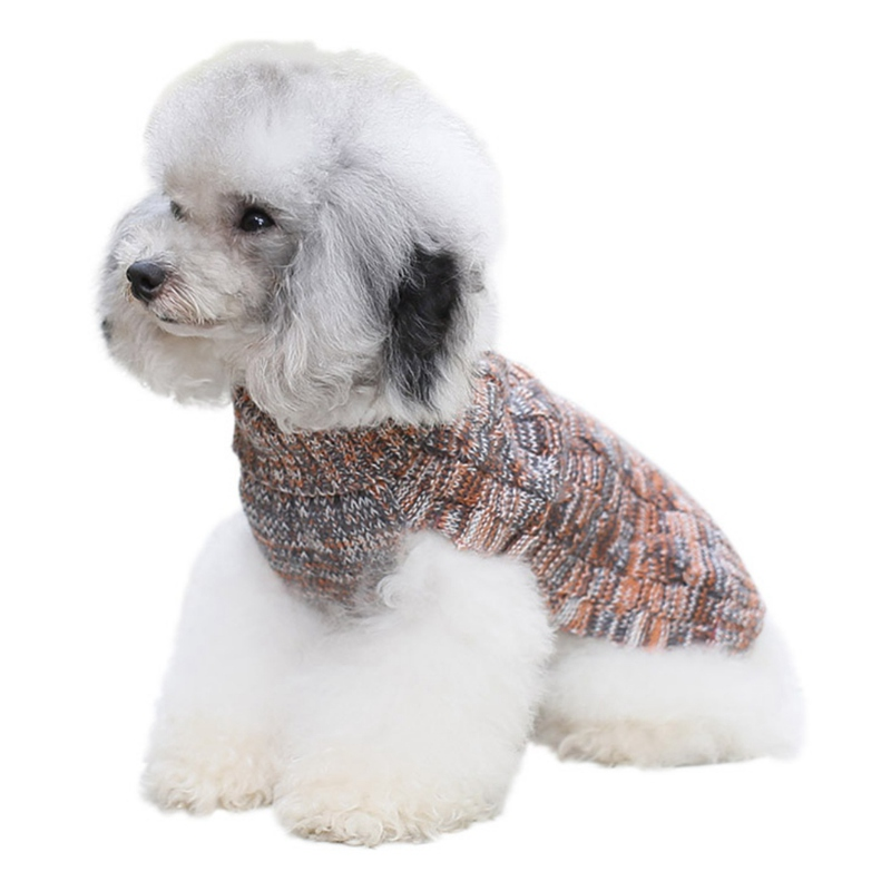 Dog-Winter-Warm-Sweater-Small-Pet-Coat-Clothes-Puppy-Cat-Jacket-Apparel-Costume thumbnail 12