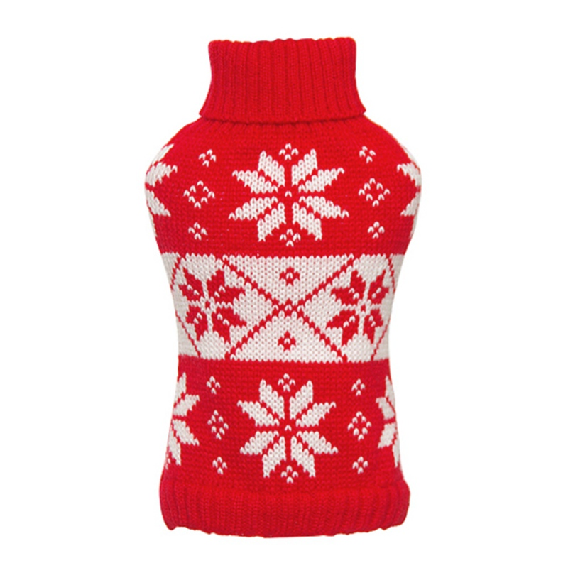 Dog-Winter-Warm-Sweater-Small-Pet-Coat-Clothes-Puppy-Cat-Jacket-Apparel-Costume thumbnail 26