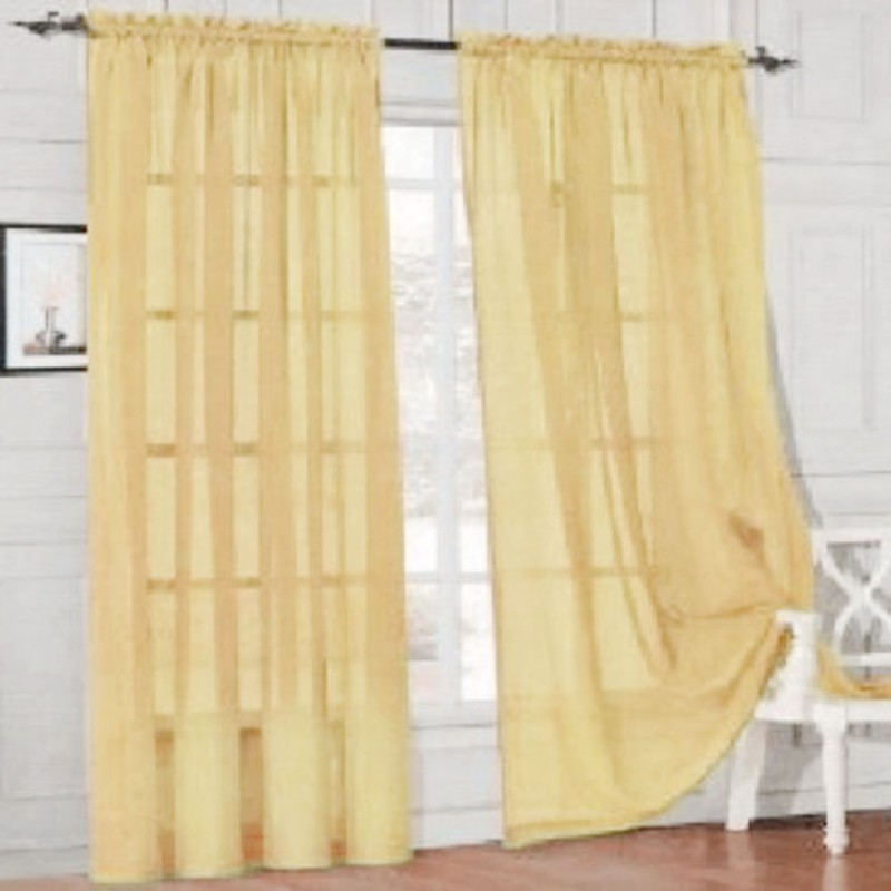 sheer curtain window curtains scarves bedroom voile drape