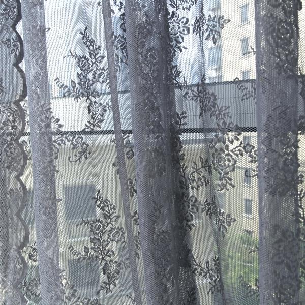 Floral-Sheer-Voile-Window-Curtain-Lace-Panel-Drape-Tulle-Valances-Balcony-Decor