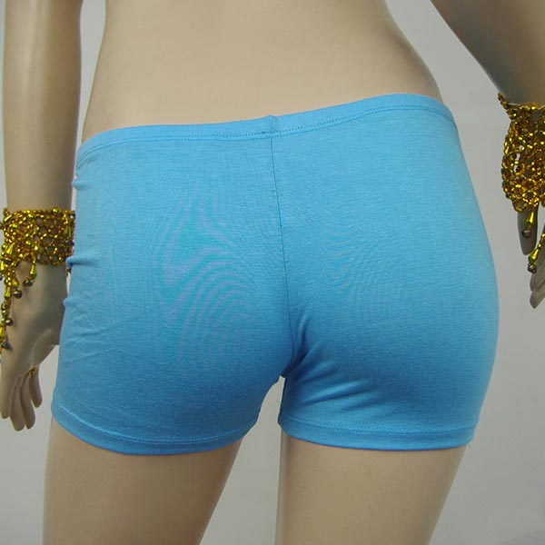 New Women Seamless Shorts Solid Colors Workout Basic Plain