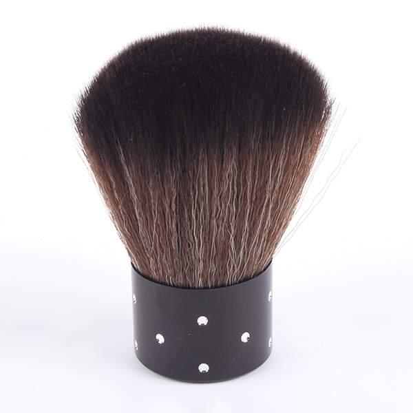 Nail Art Brush Cleaner: Nail Art Powder Dust Dirt Cleaning Brush Make Up Manicure
