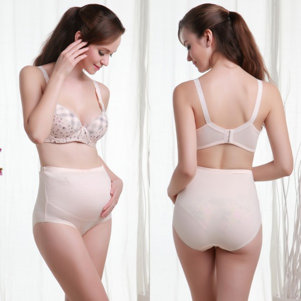 Pregnant Women Knicker Maternity Underwear Tummy Over Bump Support Panties 5