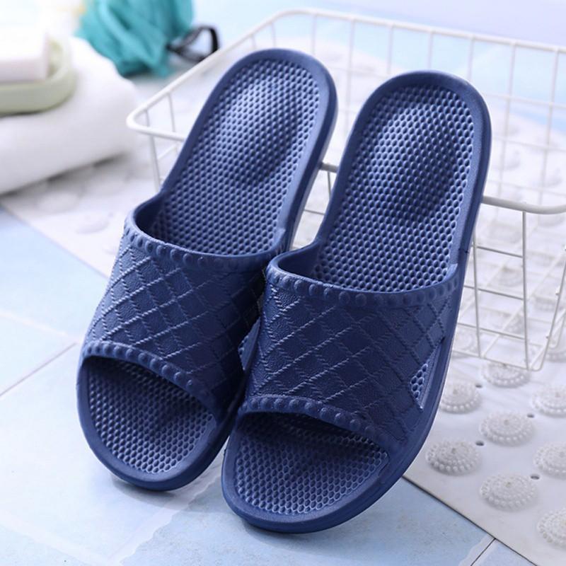 Women Men Plastic Sandals Shoes Shower Bath Slippers Non ...