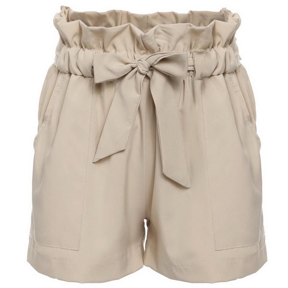 New Summer Women Short Pants Casual Beach Loose Shorts High Waist Short Trousers | eBay