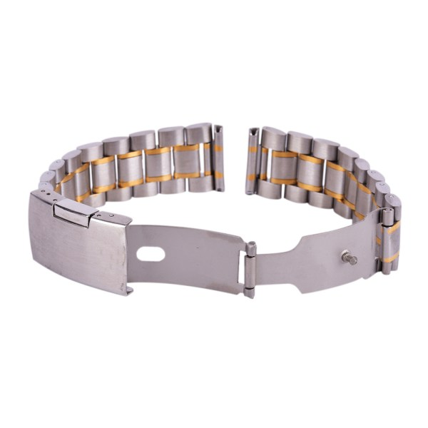 18-20-22-24mm-Stainless-Steel-Watch-Strap-Band-Clasp-Metal-Bracelet-Replacement thumbnail 13