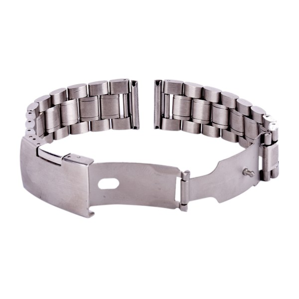 18-20-22-24mm-Stainless-Steel-Watch-Strap-Band-Clasp-Metal-Bracelet-Replacement thumbnail 12