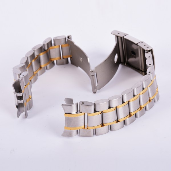 18-20-22-24mm-Stainless-Steel-Watch-Strap-Band-Clasp-Metal-Bracelet-Replacement thumbnail 17
