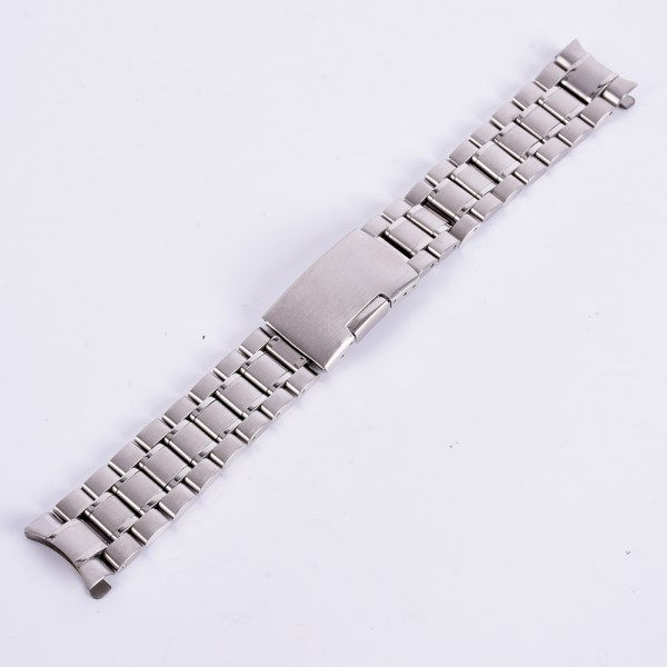 New-18-24mm-Stainless-Steel-Strap-Band-Clasp-Metal-Watch-Bracelet-Replacement-US
