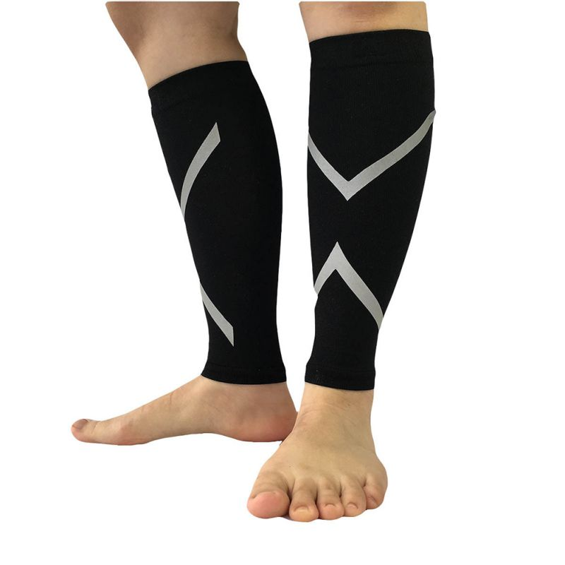 Unisex-Sports-Socks-Exercise-Socker-Jogging-Calf-Support-Compression-Leg-Sleeve