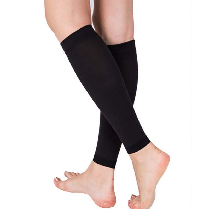 Compression-Leg-Support-Socks-Relieve-Varicose-Veins-Circulation-Stocking-1-Pair