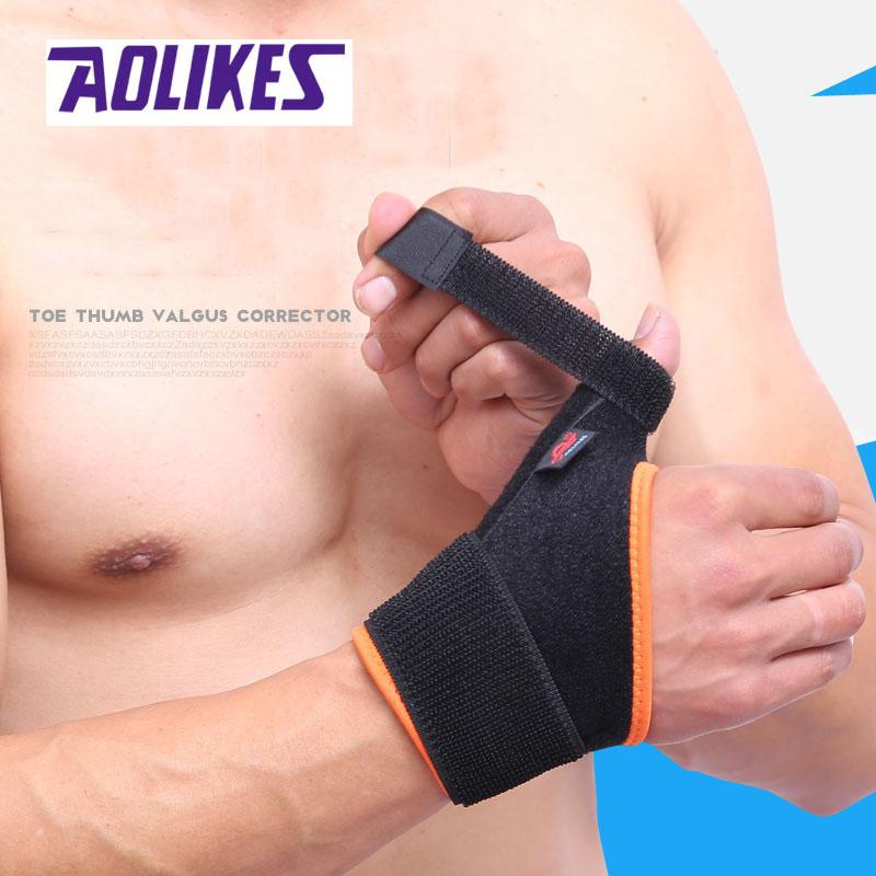 Sports-Wrist-Knee-Pad-Bracer-Thigh-Elbow-Brace-Strap-Support-Arm-Bandage-Wraps thumbnail 5