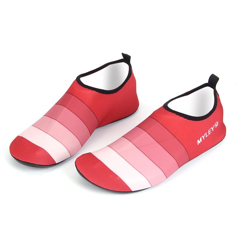 Men-Women-Summer-Beach-Water-Sport-Footwear-Barefoot-Skin-Stripe-Socks-Shoes