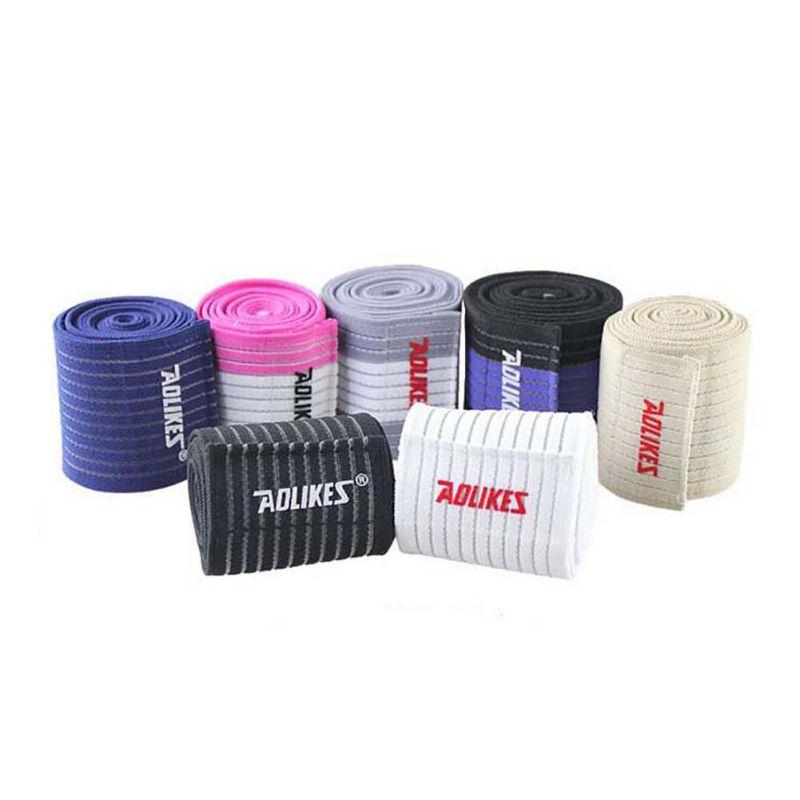 Sports-Wrist-Knee-Pad-Bracer-Thigh-Elbow-Brace-Strap-Support-Arm-Bandage-Wraps thumbnail 7