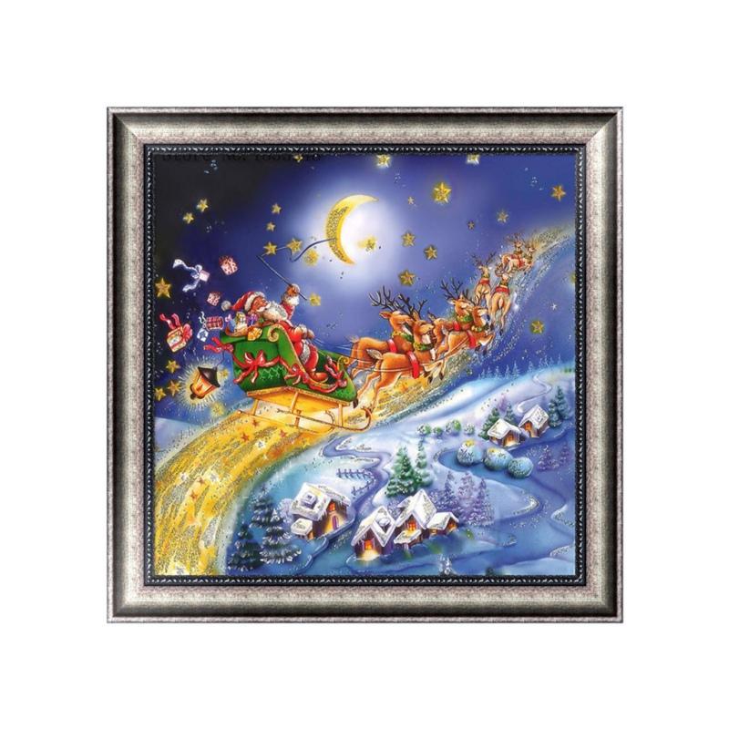 Cute DIY Christmas Santa 5D Diamond Painting Embroidery